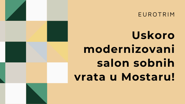 EuroTRIM Mostar salon sobnih vrata
